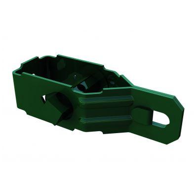 Tensor de alambre verde para cierres con malla metálica