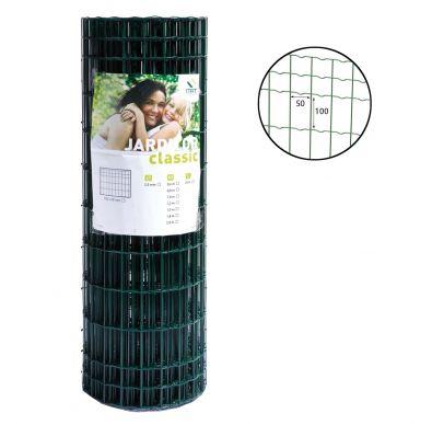 Rollo de la malla electrosoldada Jarditor Classic de color verde