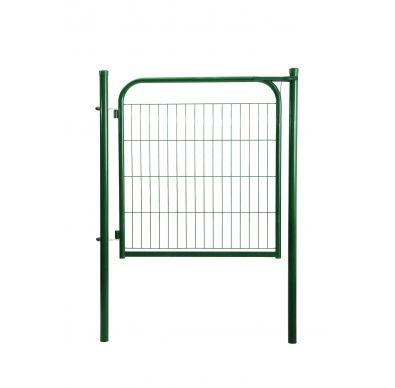 Detalle de puerta metálica ECO verde