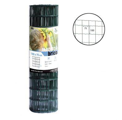 Rollo de la malla electrosoldada Jarditor Brico 100x75